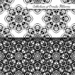 Set of 2 Seamless Vintage Patterns — Stock Vector #69502097