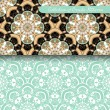 Set of 2 Seamless Vintage Patterns — Stock Vector #69502099