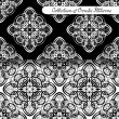 Set of 2 Seamless Vintage Patterns — Stock Vector #69502131