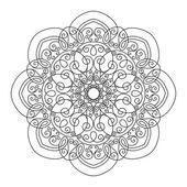 Beautiful Deco Mandala — Stock Vector
