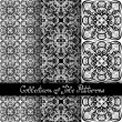 Set of 3 Seamless Vintage Patterns — Stock Vector #70365329