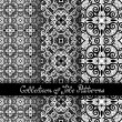 Set of 3 Seamless Vintage Patterns — Stock Vector #70365345