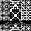 Set of 3 Seamless Vintage Patterns — Stock Vector #70365379