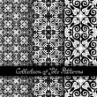 Set of 3 Seamless Vintage Patterns — Stock Vector #70365381
