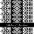 Set of 3 Seamless Vintage Patterns — Stock Vector #70365395