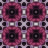 Seamless Pattern Tribal abstrait — Vecteur