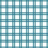 Geometric wicker pattern — Stock Vector