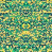 Renkli piksel arka plan — Stok Vektör