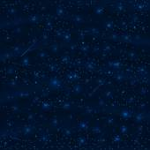 Night sky with stars — Vettoriale Stock
