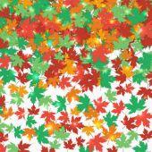 Fallen maple leaves background — Stock Vector