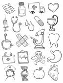 Health care symbols — Wektor stockowy