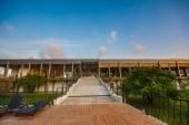 Touristic resort building — Stock Photo