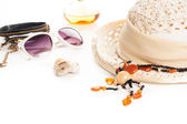 Summer fashion accessories — Stock Photo