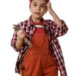 Girl mechanic — Stock Photo #64328871