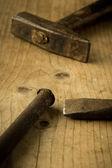 复古的工具 — 图库照片