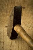 古いハンマー — ストック写真