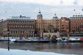 Stockholm - Stromkajen — Stock Photo