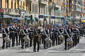 Musicians of Royal Military Band — Stock Photo