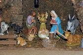 Christmas - Crib — Stock Photo