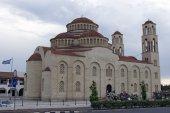 кипр - греческая церковь agioi anargyroi — Стоковое фото