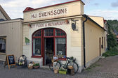 Soderkoping - Picturesque private shop — Stock Photo