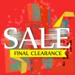 Sale  Final Clearance — Stock Vector #53875417