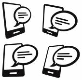 移动通信图标 — 图库矢量图片