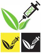 Icon - Genetically Modified Crop — Stock Vector