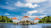 Nymphenburg castle grounds in Munich — Stock Photo