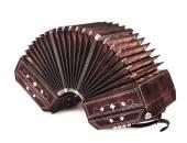 Bandoneon ,tango instrument — Stock Photo