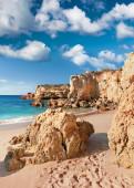 Golden beaches of Albufeira — Stock Photo