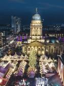 Chtristmas maket gendarmenmarkt à berlin — Photo