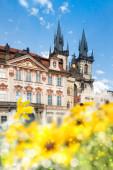 Prague main square in summer — Stock Photo