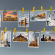 European landmarks, collage — Stock Photo #53802879