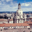 Roofs of old Dresden — Stock Photo #53803043