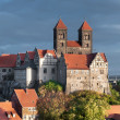 Quedlinburg Castle in Quedlinburg — Stock Photo #53803473