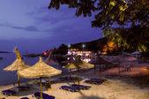 Beach bar in Greece — Stock Photo
