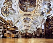 Strahov Monastery library — Stockfoto