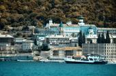 Monastery Panteleimonos on Mount Athos — 图库照片