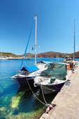 Barcos de pescadores — Foto de Stock