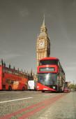 Doubledecker otobüs — Stok fotoğraf