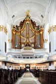 интерьер церкви святого михаила в гамбурге — Стоковое фото