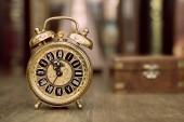 Clock showing five to twelve. — Stock Photo