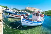 Fishermen boats — Stock Photo