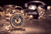 Vintage väckarklocka — Stockfoto