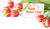 "Greeting card ""Mother's day"" — Stock Photo"