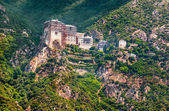 Holy Monastery of Simonos Petra — Stock Photo