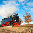 Historical steam train on Rugen in Germany — Stock Photo #73307775