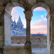 Fisherman's Bastion in Budapest — Stock fotografie #73307905