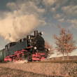 Historical steam train on Rugen in Germany — Stock Photo #73307937